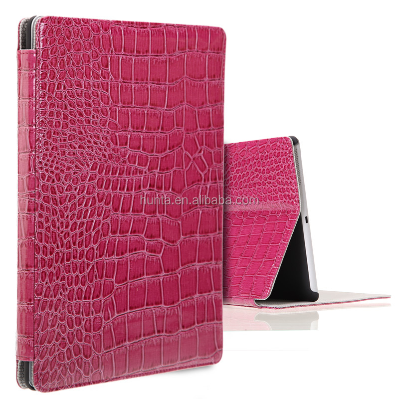 PU leather shockproof case for Ipad2/3/4 vegan leather flip cover case for tablet