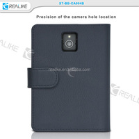 Any Color Wallet Flip Leather Case Cover Pouch For BlackBerry Passport Q30, Classic, Leap, P'9983, Z30