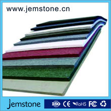Cotton materials sound absorption decorative fabric wall panel