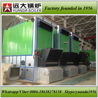 Biomass wood pellet fired thermax oil boiler 6ton