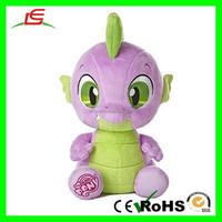 E473 Alibaba Customized My Little Pony Spike Plush Toy Factory