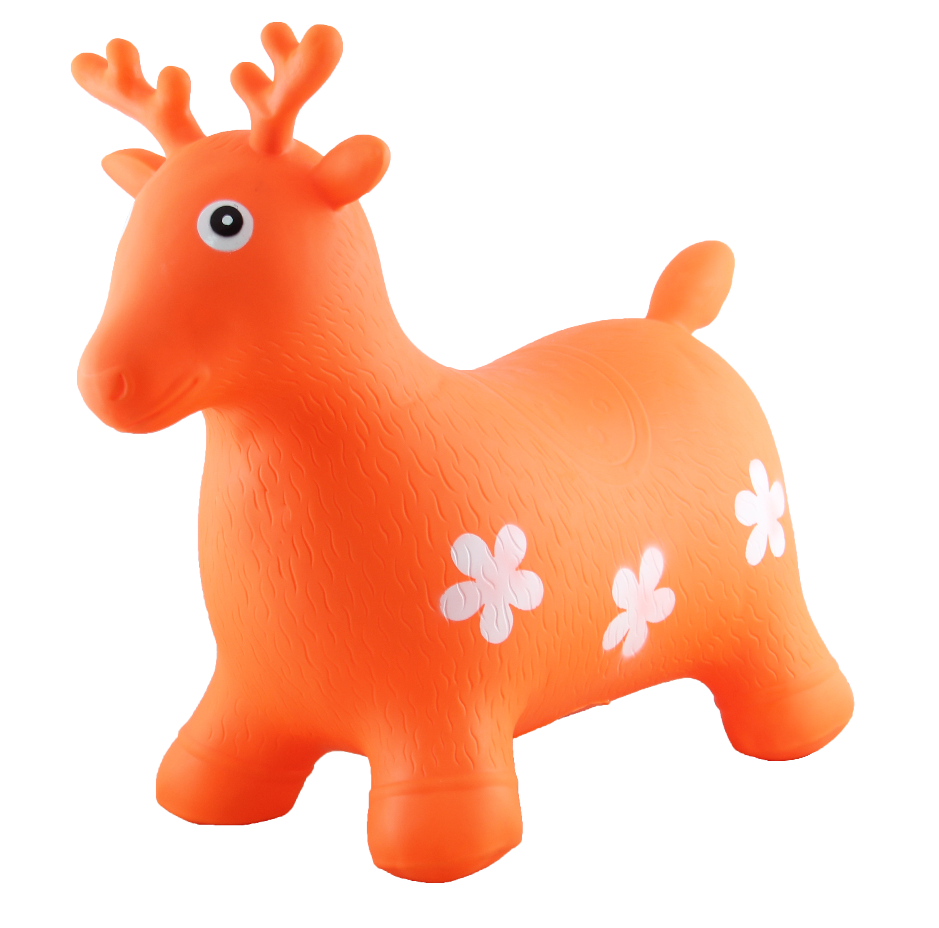 Inflatable Eco-friendly PVC material Ride-on Animal bouncing Deer indoor & outdoor toys