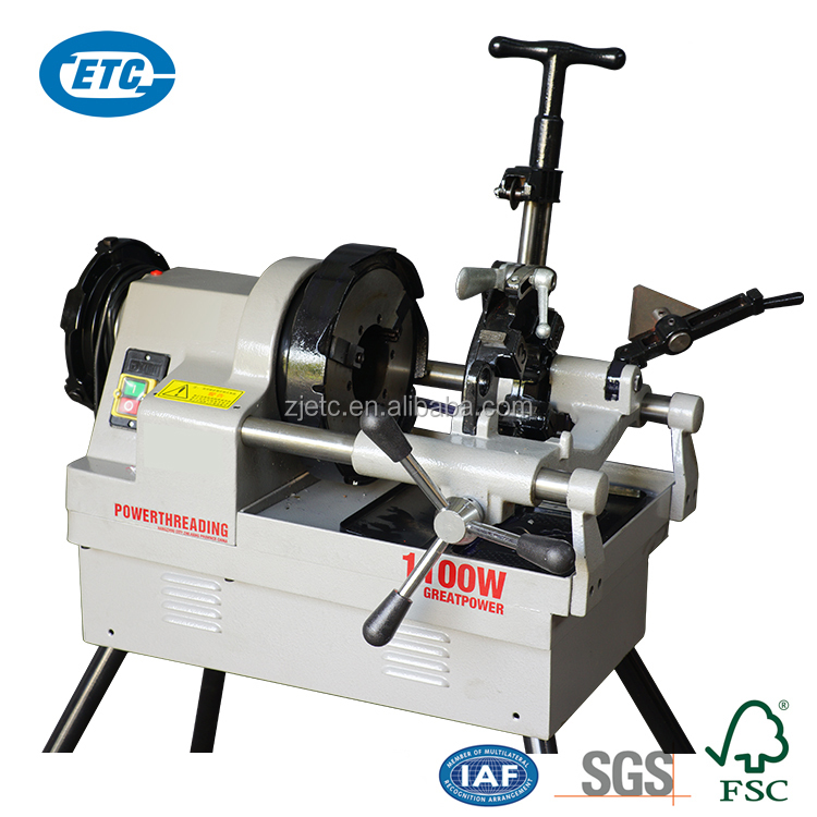 Best Quality Ratchet Pipe Threader Machine With Pipe Cutter ZT-80AF