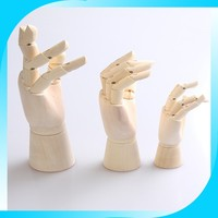 2014 High quality wooden hand model