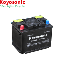 12 Voltage European DIN Standard Car Battery 12V 60AH Korean Battery