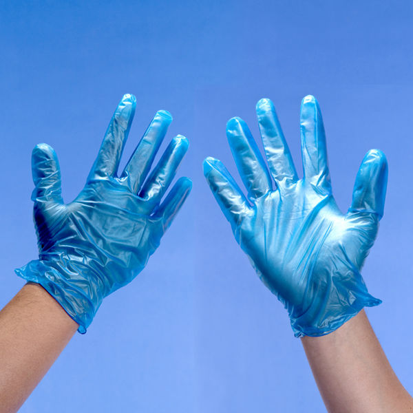PVC glove, medical nurse accessories