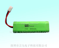 portable battery charger 18650 7.2v 3000mah lithium battery with rechargeable battery for wireless chargers