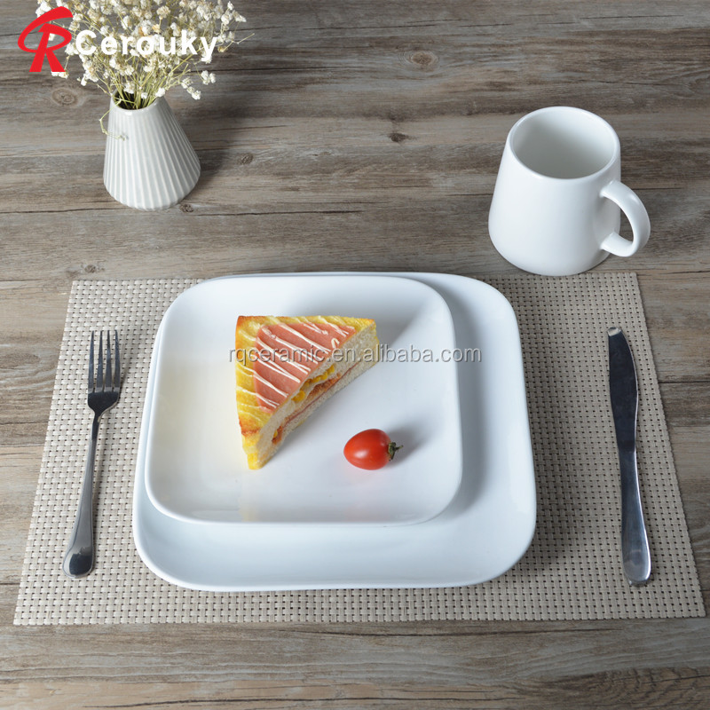 FDA BSCI SEDEX approved cheap bulk ceramic dinner plate