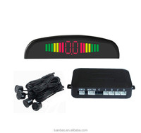 Factory directly sell digital LED showing Distance 4 detectors electromagnetic car parking sensor Radar detector