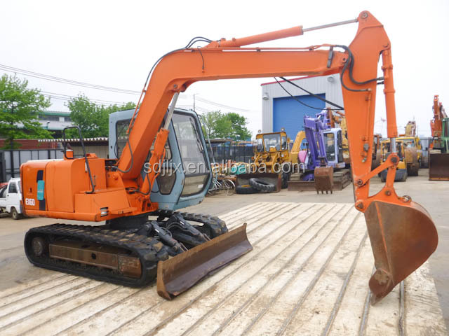 hydralic excavator, used excavator, used hitachi excavator EX60/hot sale/ good condition/ high quality