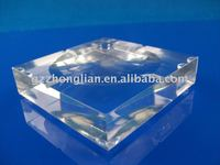 acrylic soap dish/PMMA soap dish/plexiglass soap dish