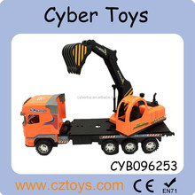 Boys popular Friction power construction truck friction toy truck for kids toys