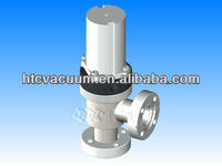 CF Flange with Bellows Attached Reed Sensor(USA) vacuum angle valves | Pneumatically actuated valve