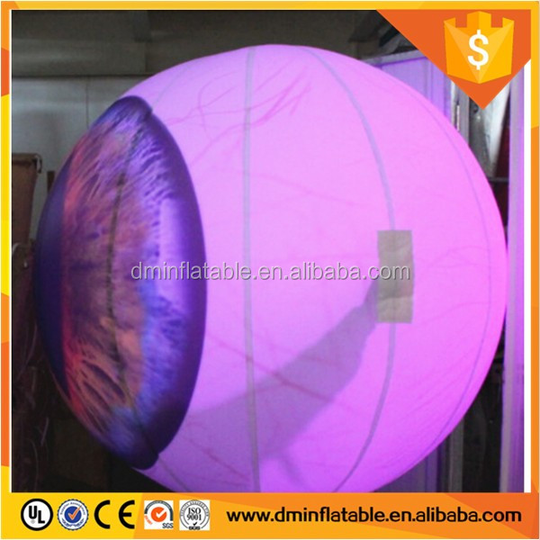 promotional inflatable led lighting balloon