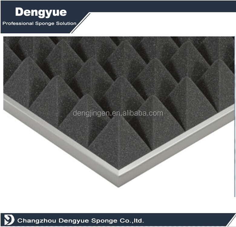 high quality durable fireproof generator sound absorbing foam insulation panels