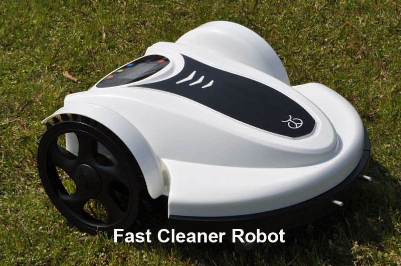 Newest arrival Robot Grass Cutter With NEWEST WIFI APP SMARTPHONE Control Wireless+Water-Proof Charger