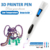 New Toy low temperature 3D Printing Pen gift 3d Drawing pen 2 cartridges free