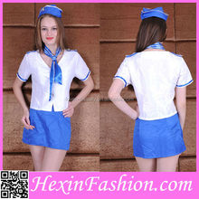 Wholesale Cheap Sexy Airline Hostess Costume