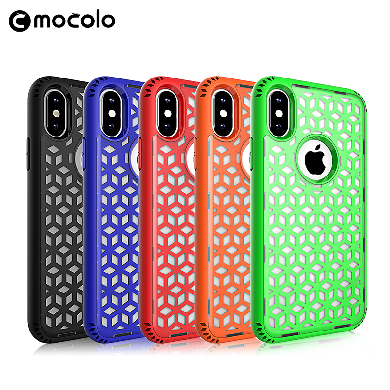 Decorative Mobile Phones Back Cover For Iphones 8 Shock Resistant TPU PC Case For Iphone 8Plus X