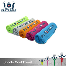 Sports Golf Coolcore Ice Towel, Quick Dry Custom Gym Microfiber Cooling Towel