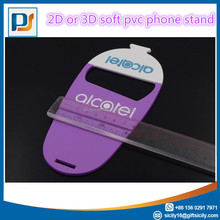 soft pvc cellphone stand/cell phone holder