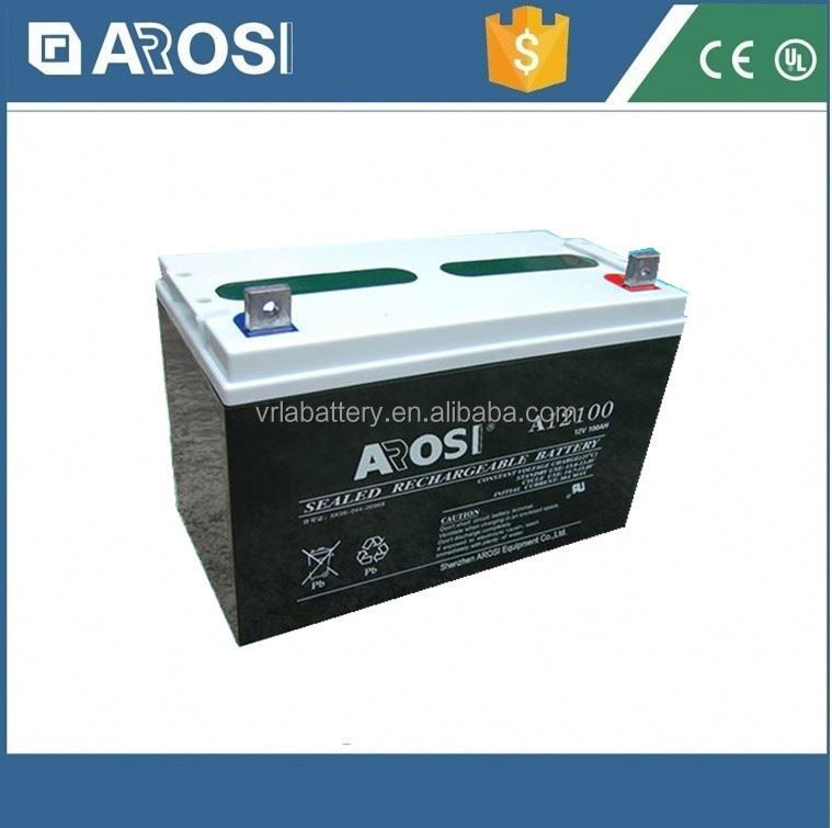 Advanced technology 12v 100ah solar battery waterproof battery box