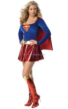 Lower Price Wholesale Halloween Cosplay Costume Superman for Adult