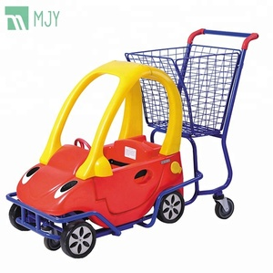 Supermarket caddy shopping trolley for kids MJY-K03