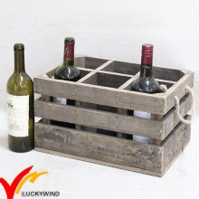 Rustic Vintage Mini wooden Beer Bottle Crates with Handle
