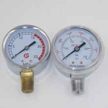 high precision all stainless steel bourdon tube pressure gauge with NPT thread
