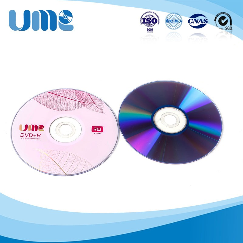 China recordable A+ verbatim 4.7gb dvd+r cake box