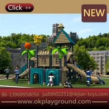 outer space style comfortable promotion on sale long attractive outdoor playground plastic slide