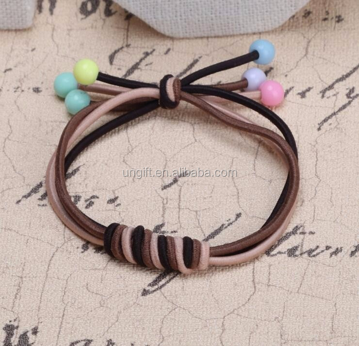 Hair Ring Hair Rope Elastic Braided Wrap Hairband Fastening Accessories Synthetic Headwear Ponytails Holder