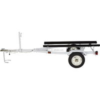 best selling product galvanized utility boat trailers