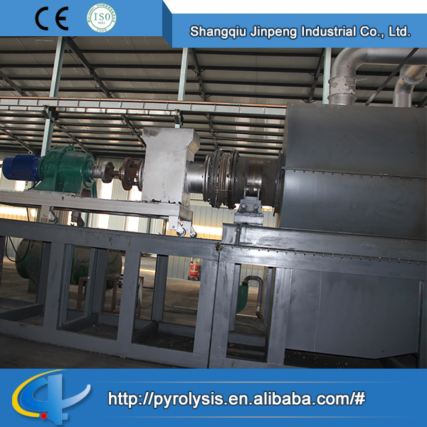 Made in china continuous car tyres pyrolysis oil machine