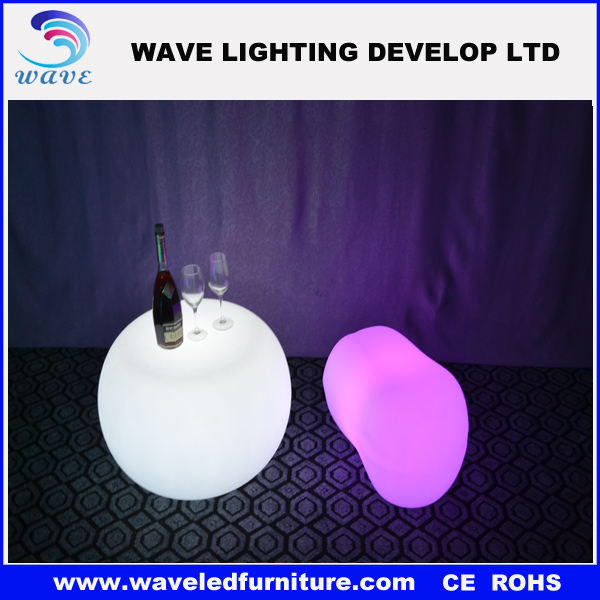 Decorative small tables /Small short led table