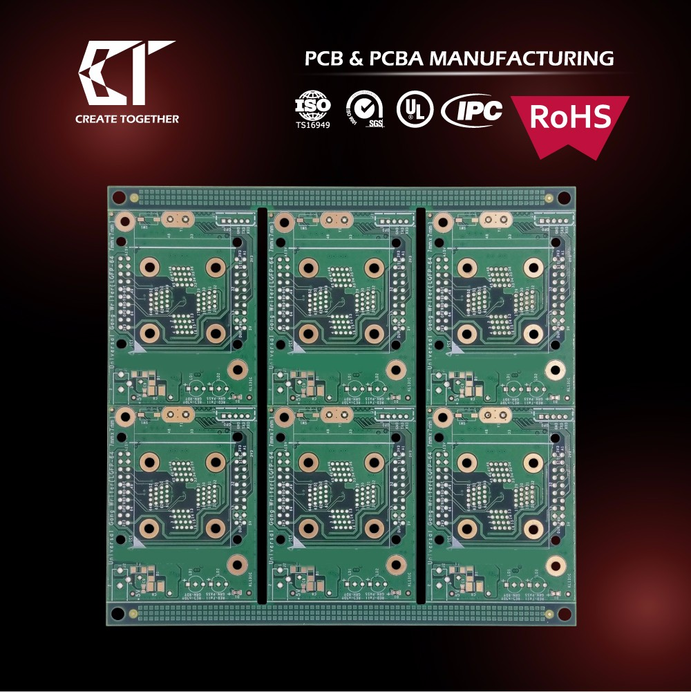 TAIWAN MADE OEM UL RoHS 94v led pcb with components assembly