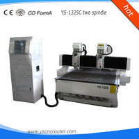 5 axis cnc router/ Chinese wood CNC router for sale /wood CNC machine engraving router cnc with two HSD spindle