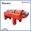 Continuous run horizontal type screw discharge slurry centrifugal dewatering plant