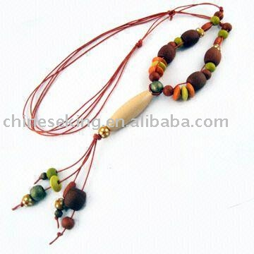 New Design Wood Necklaces Made in china
