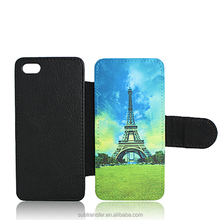 Alibaba best selling durable leather flip cover case for Iphone5s