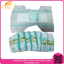 Wholesale Economic Good Quality Colored Disposable Baby Diapers Guangzhou
