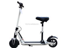 mini folding 2 wheels standing electric scooter for kids and adults with seat