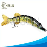 multi jointed fishing lure hair tail herring Kesun lure CH6J01F
