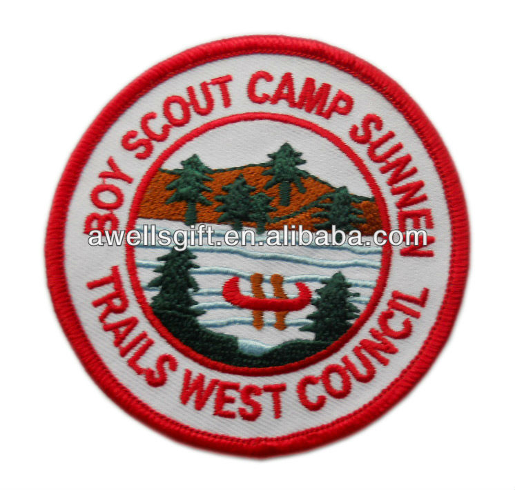 boy scout camp sunnen patch