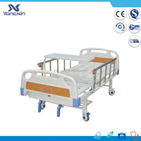 YXZ-C-026 Top quality bottom price hospital care manual crank patient bed