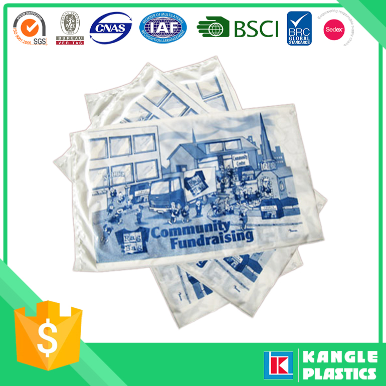 High Quality Food Packaging Plastic Charity Bag Roll Film