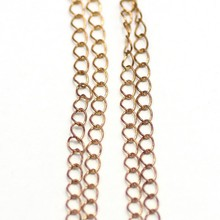 brass 5mm wire extended chain link fencing Safety Chains