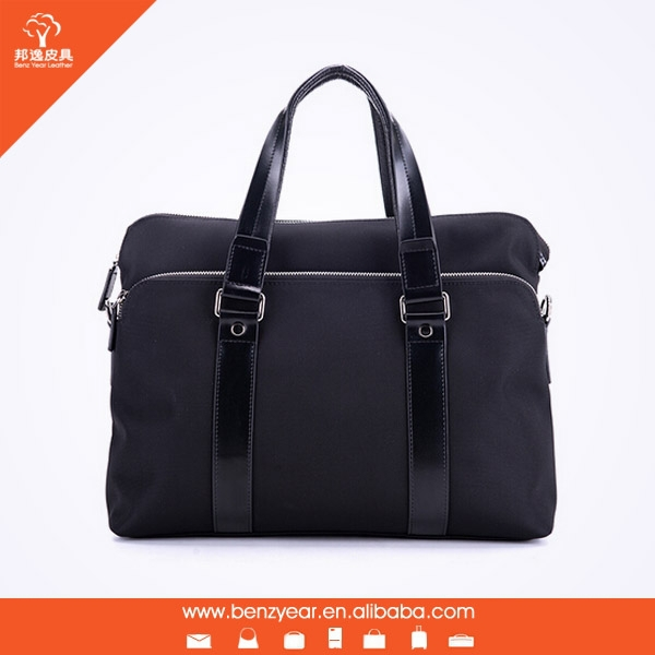 Man leather tote bag