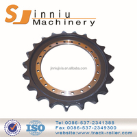 wholesale low price high quality black or orange chain sprocket linked chain sprockets
